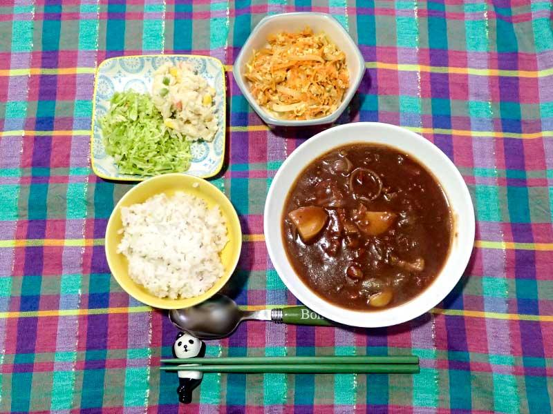 2016年2月9日の晩ご飯