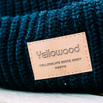 Yellowood - Black & Blue Beanie