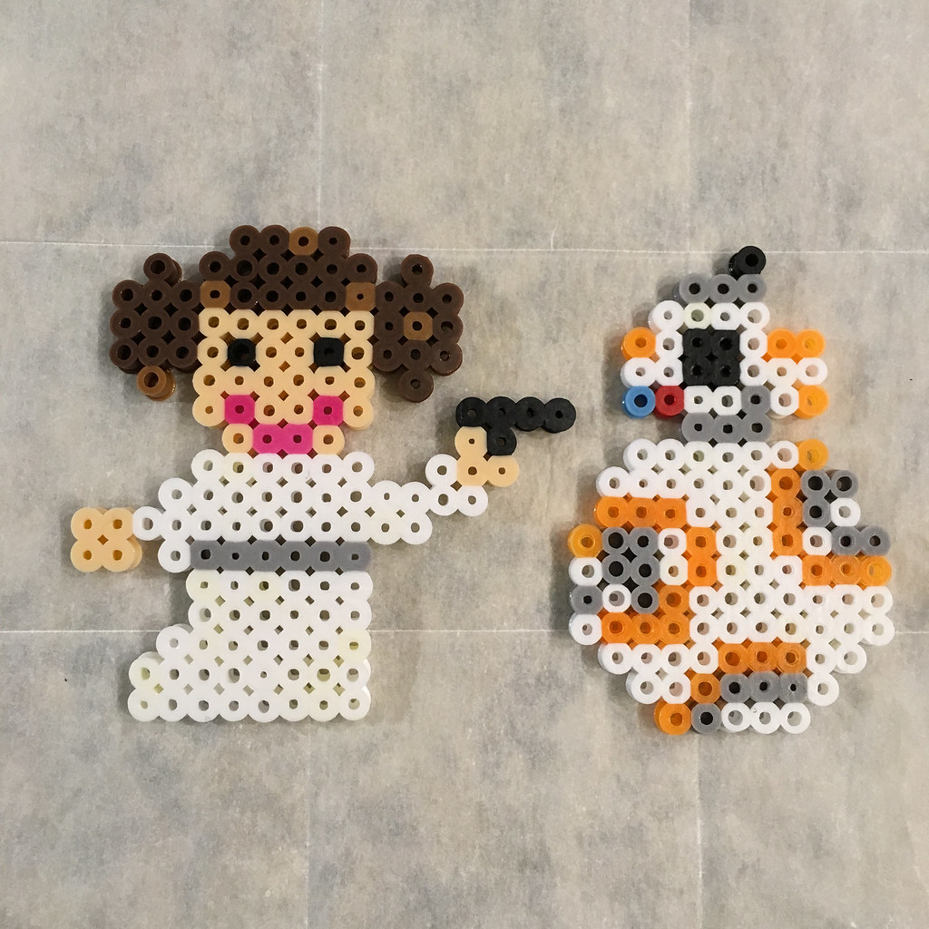 Leia and BB-8