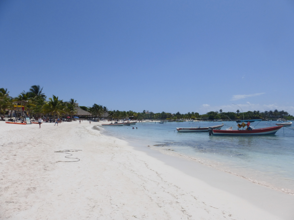 White Sandy Beach of Akumal