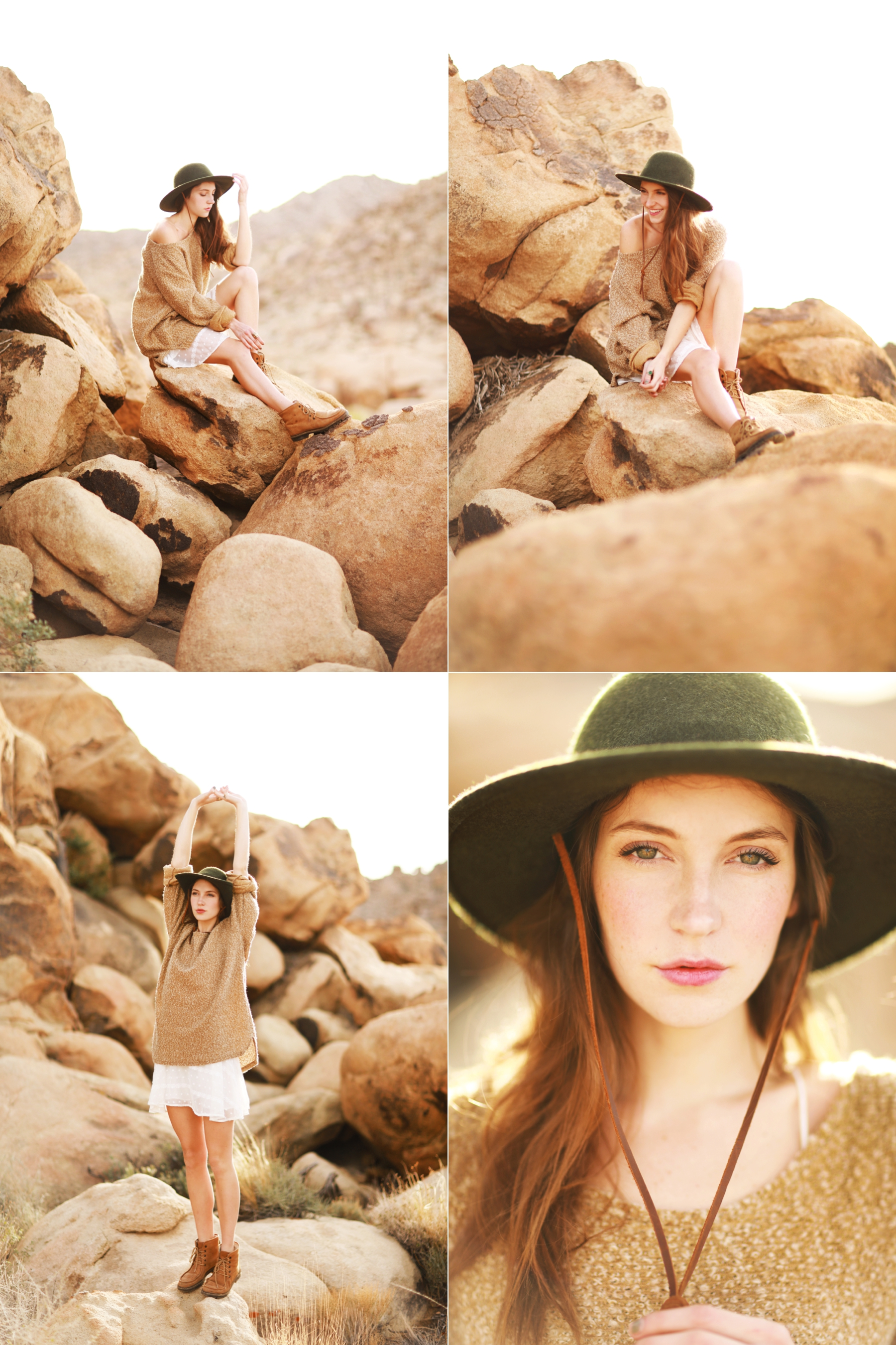 Nicole at Joshua Tree