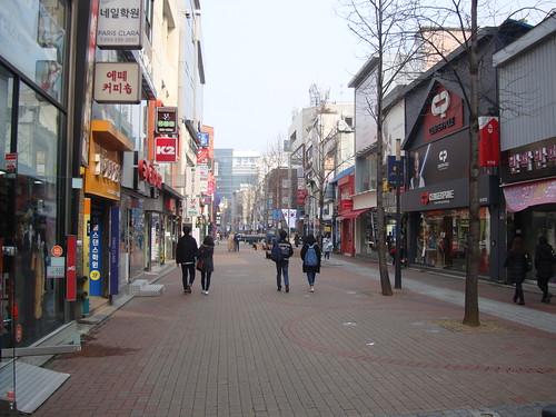 Daegu Fußgängerzone