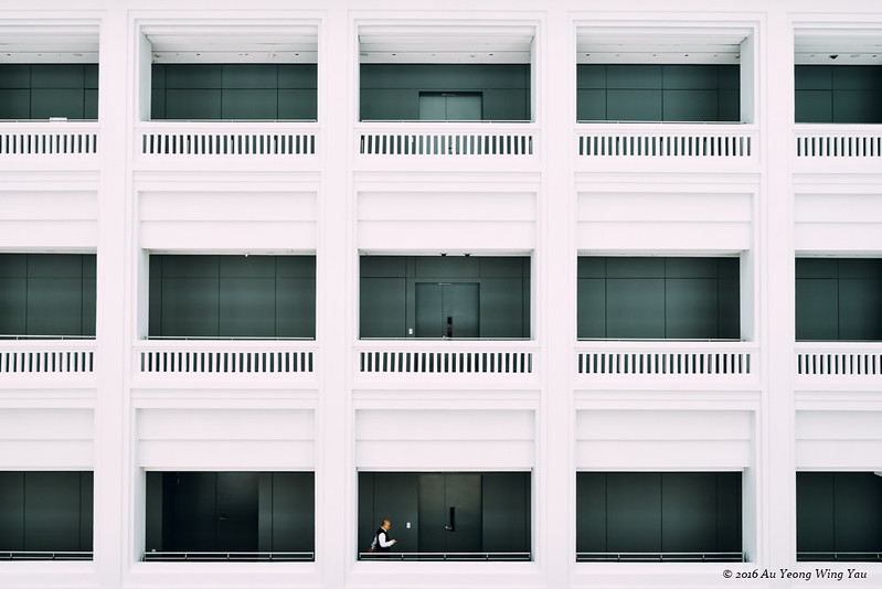 Singapore National Gallery: Interior Courtyard 2
