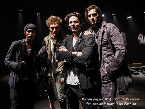 RK2016-02-031410 Designer Greg Lauren and his models