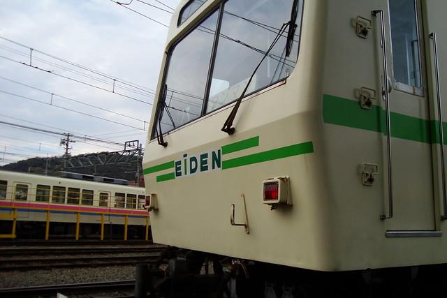 2016/02 叡山電車×NEW GAME! ラッピング車両 #54