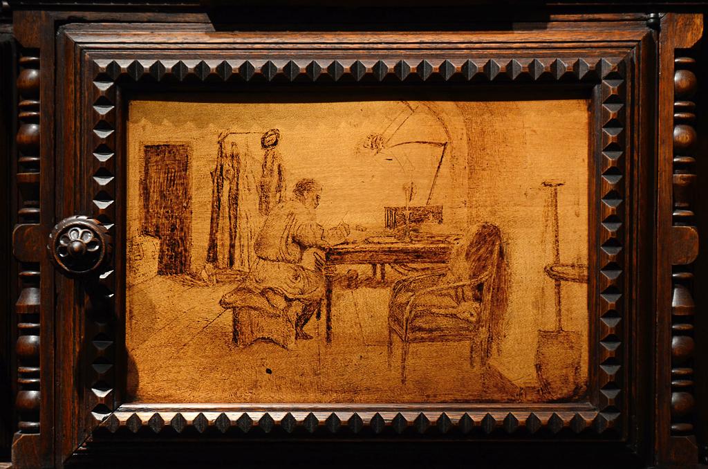 Bookcase Leo Tolstoy 04