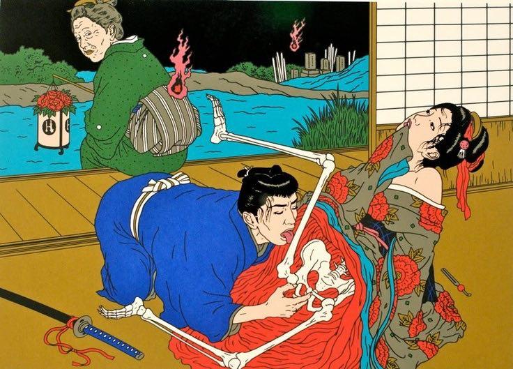日本病態暴力美學教父—佐伯俊男的情色烏托邦3