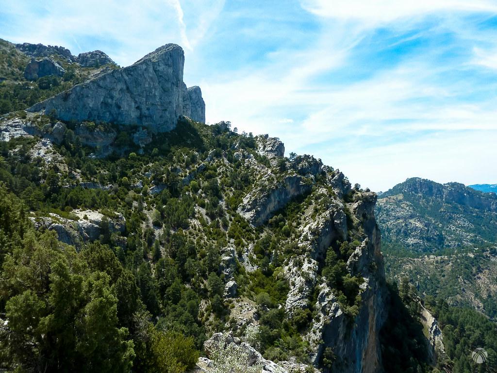 Un poco más lejos. No nos cansamos de fotografía esta maravilla geológica