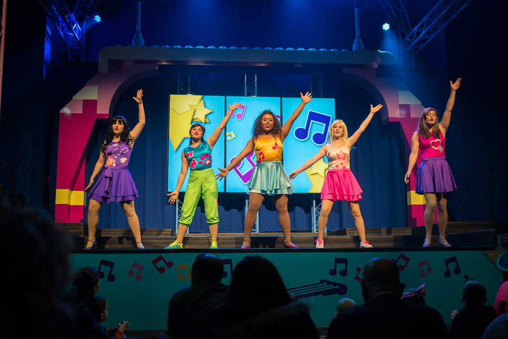 Lego Friends on stage
