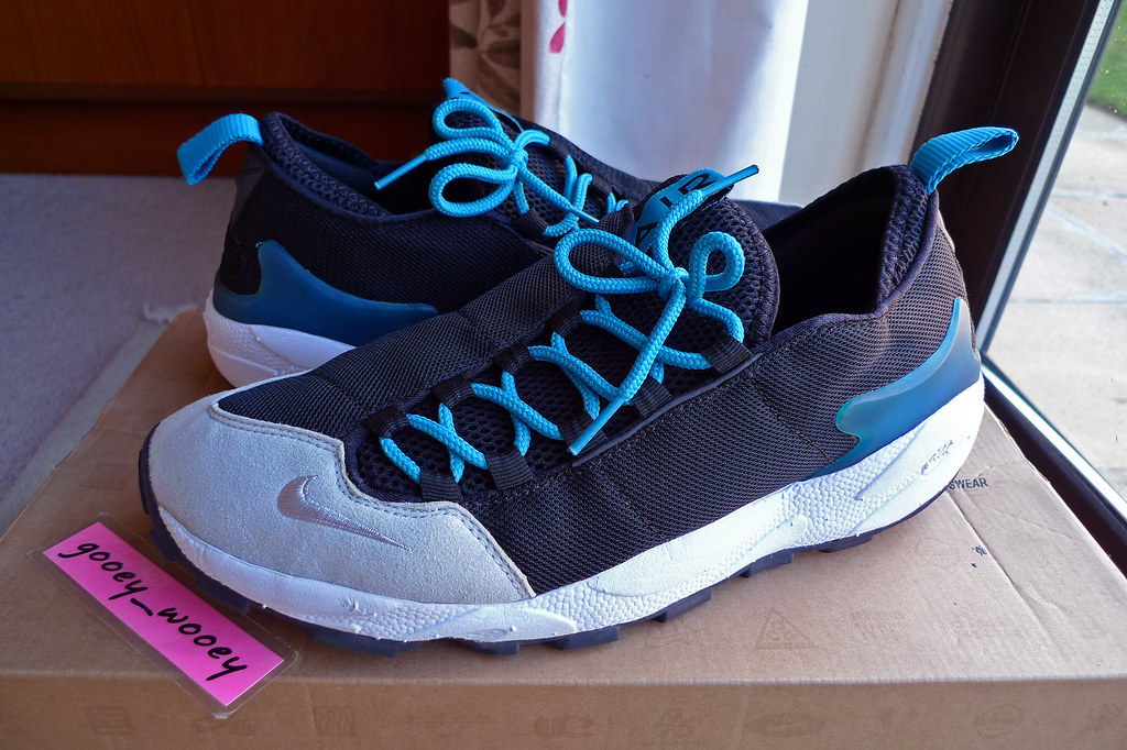 online store 44b85 ba613 ... Nike Air Footscape HF TZ 'Fragment - Black / Neutral Grey - Neo  Turquoise'