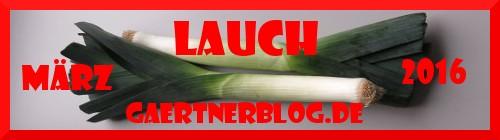 Garten-Koch-Event März: Lauch [31.03.2016]