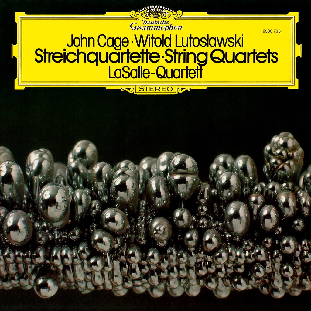 John Cage Witold Lutosławski - String Quartets