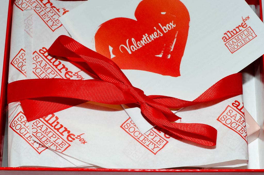 Valentine's box allurebox
