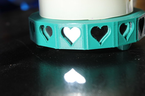 3D Printing with Embedded Mirrors - Heart and Reflection