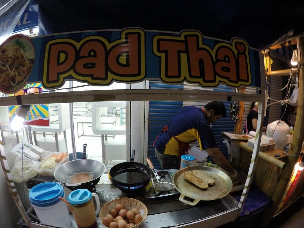 Pad Thai Stall at Sairee Beach