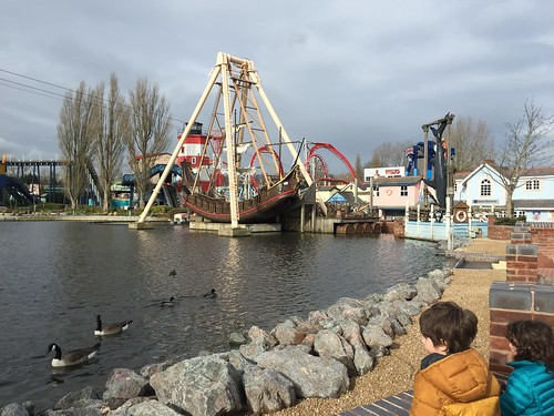 These are the main rides inDrayton Manor, closed for mid-term