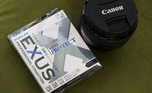 EXUS Filter & EF50mm f12_02