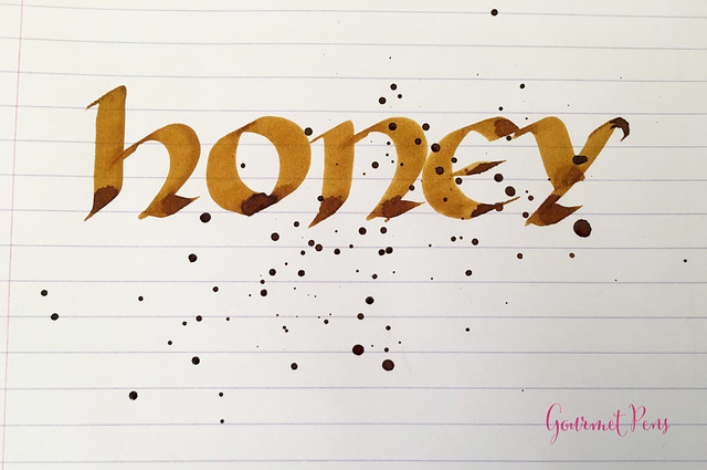 Ink Shot Review KWZ Ink Honey @Vanness1938 (4)