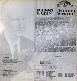Johnny Winter EARLY WINTER