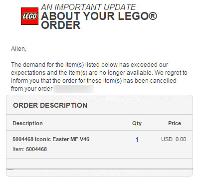 LEGO Shop@Home Iconic Easter