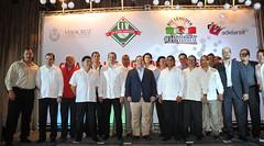 El gobernador Javier Duarte se reunió con integrantes de la agrupación de beisbolistas Big Leaguers 1