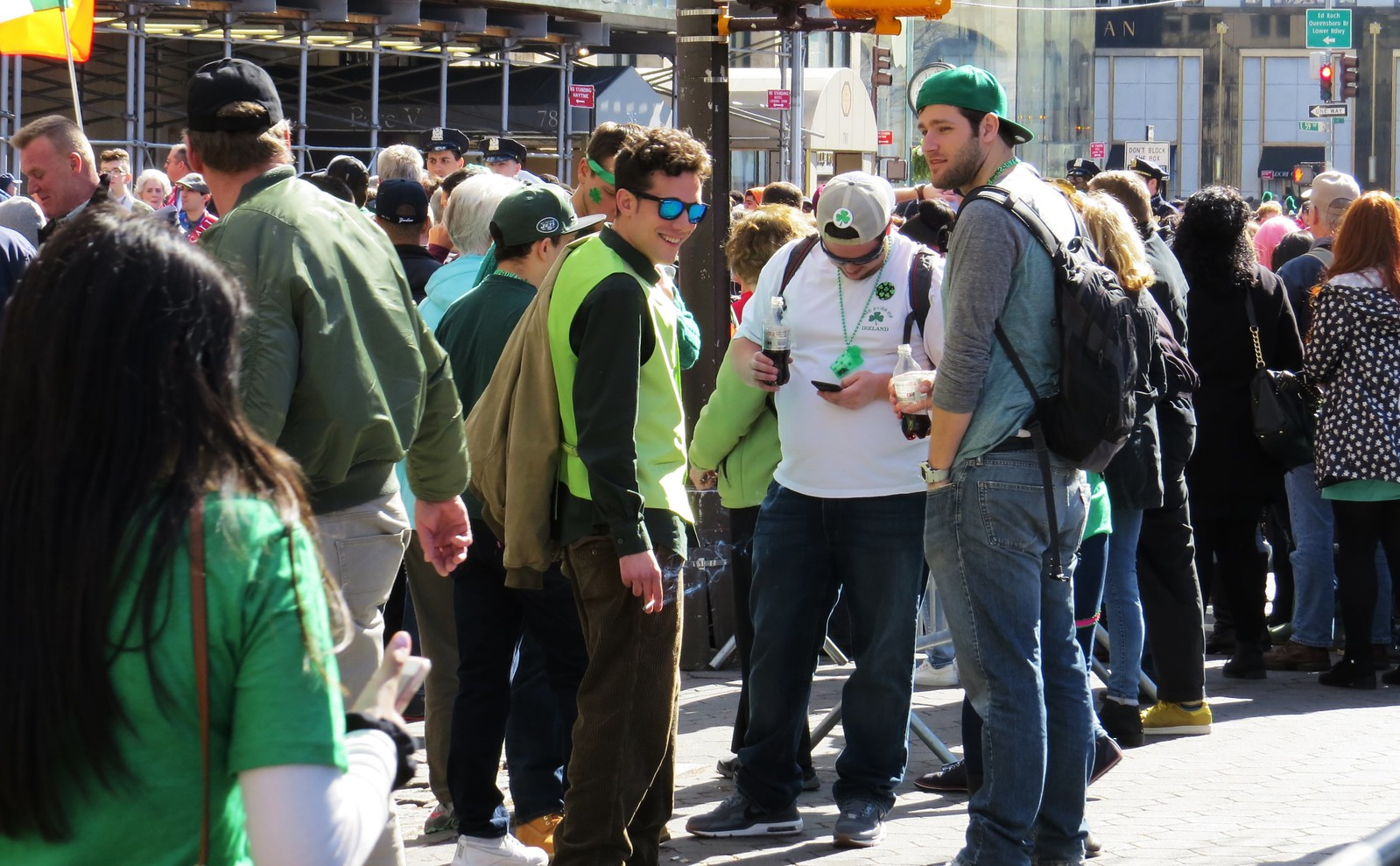 St.Patrick's Day Parade, New York