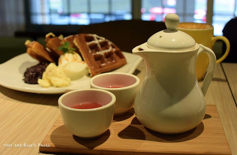 台中科博館早午餐In Cafe 浸在咖啡04