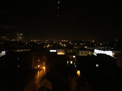 Night View of Dublin Rooftops