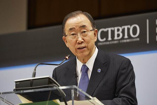 #CTBT20 Panel with the UN Secretary-General