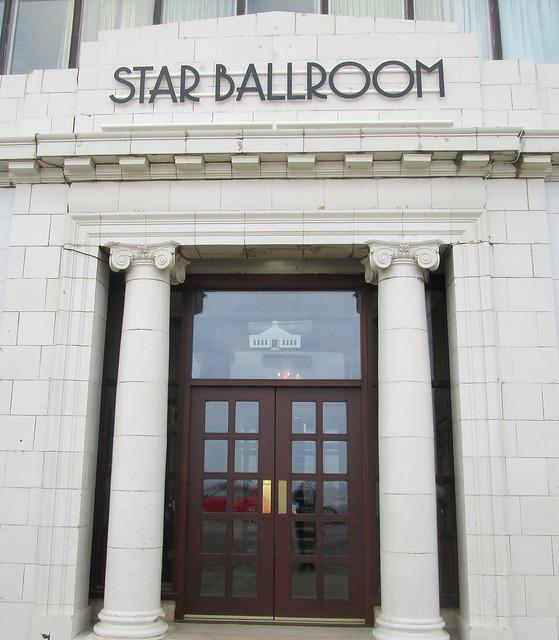 Beach Ballroom, Aberdeen, Star Ballroom Entrance