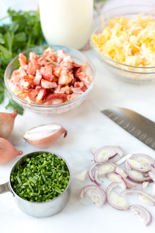 Lobster Mac Ingredients #sponsored