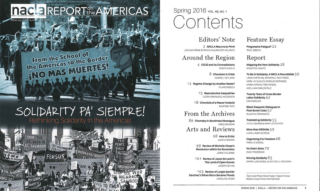NACLA Report 48.1