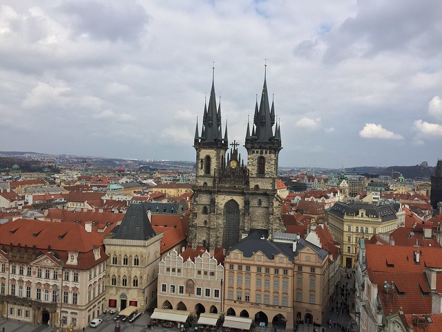 Prague from the tower