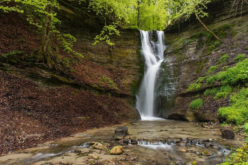 Spring at the waterfall 1 - Mutzbachfall