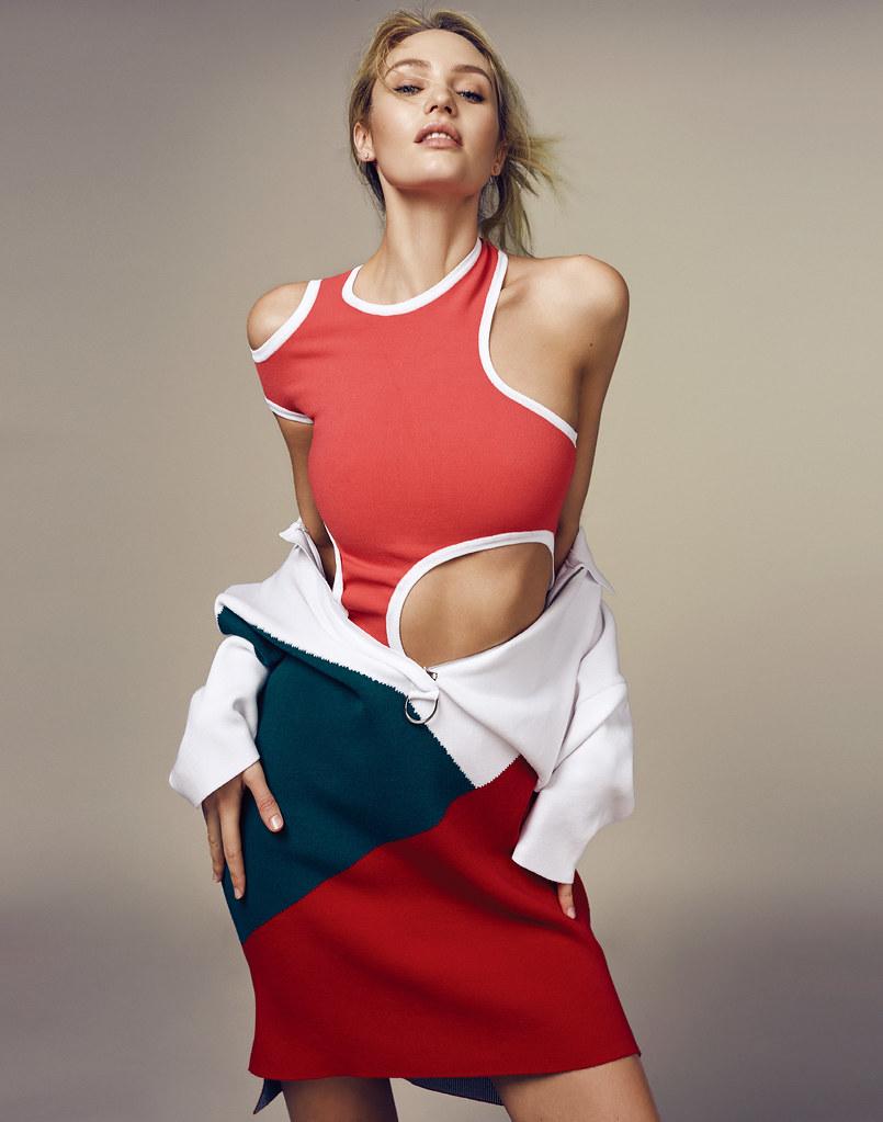 Кэндис Свейнпол — Фотосессия для «Elle» CH 2016 – 10