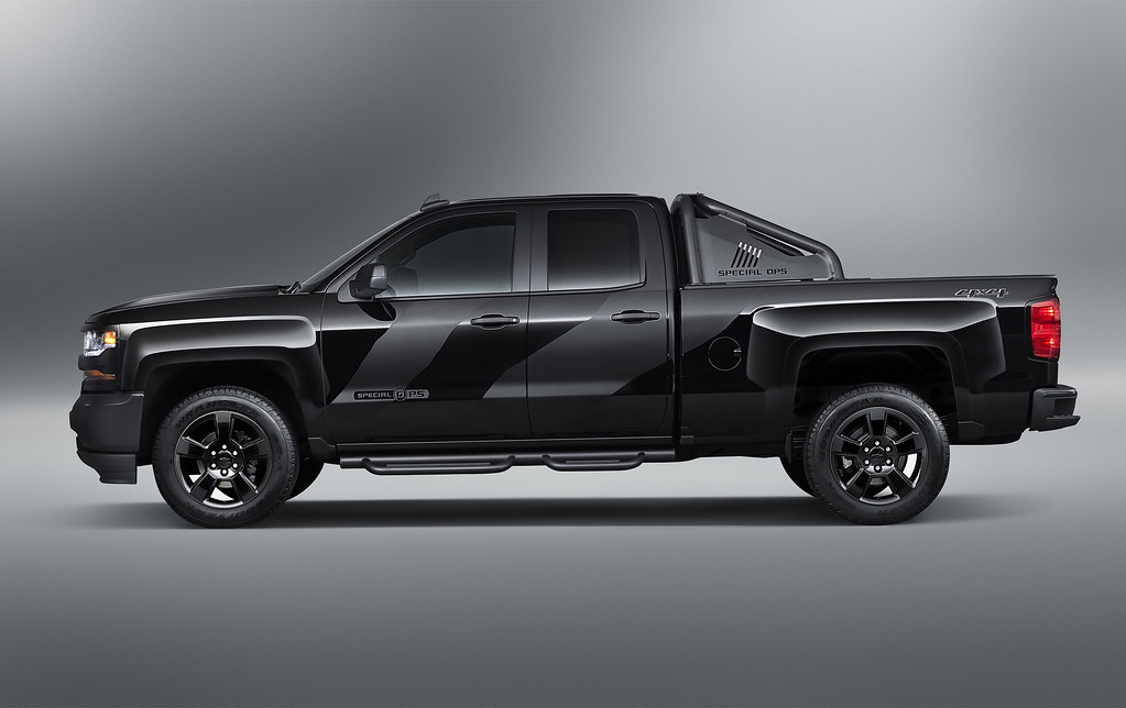 Chevrolet will donate a portion of the proceeds from the sale of the all-new, Special Operations 2016 Chevrolet Silverado to benefit the Navy SEAL Museum and its foundation.