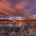 Mono Lake Tufa State Natural Reserve, Sunrise by Jeffrey Sullivan