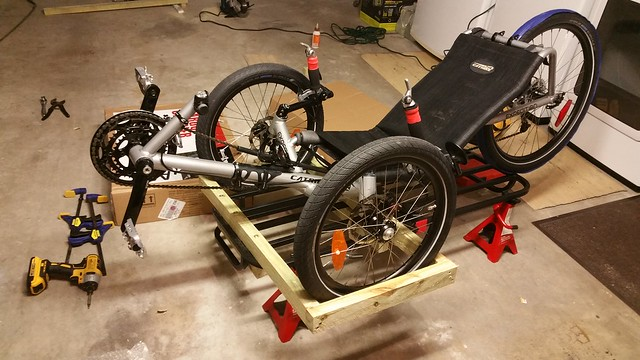 Trike Carrier: DIY $40 Only - BentRider Online Forums
