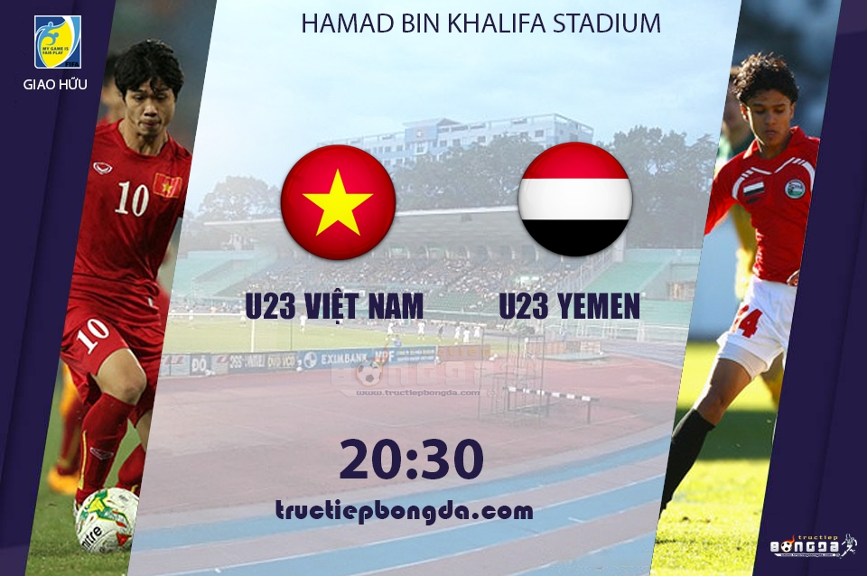 U23 Việt Nam vs U23 Yemen