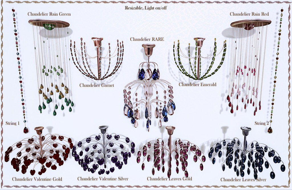 Chandelier gacha by ChicChica OUT@ LOST&FOUND