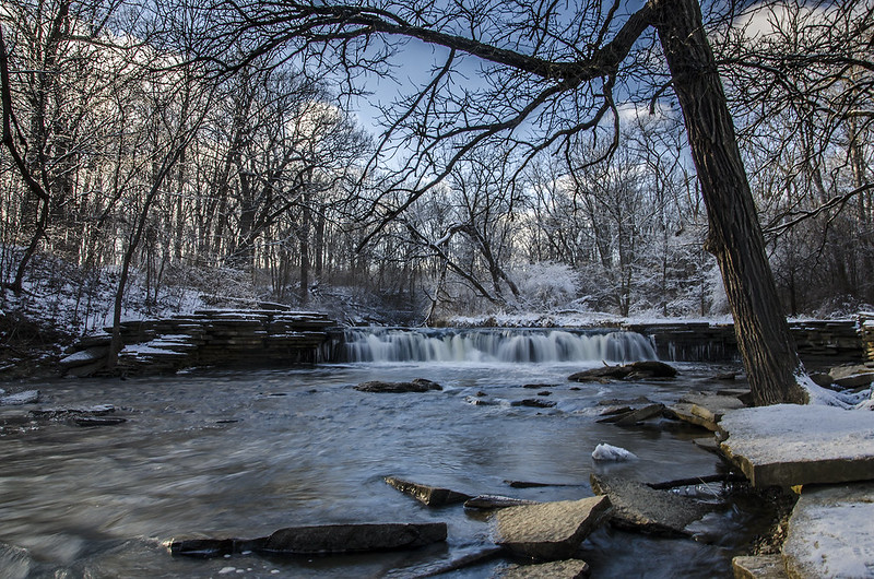 January at Waterfall Glen
