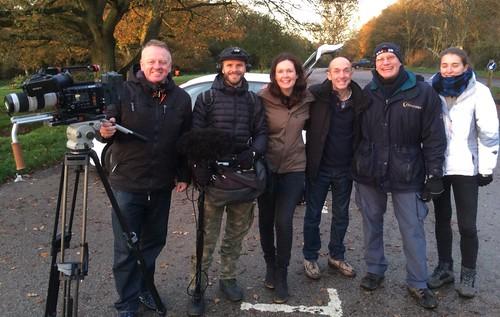 Stargazing Live ISS film crew