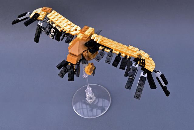 Vulture maquette
