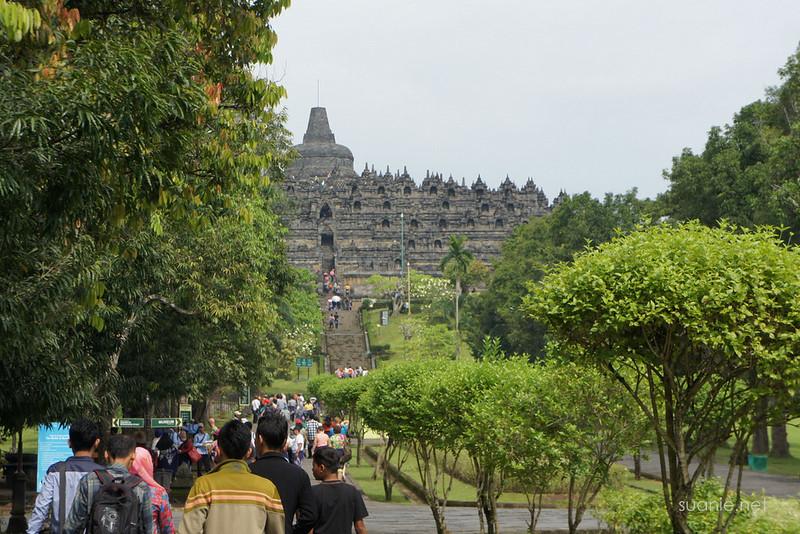 Borobudur, Yogyakarta - public entrance