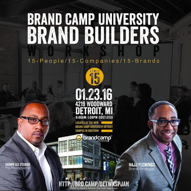 Brand Camp University - Brand Builders Workshop