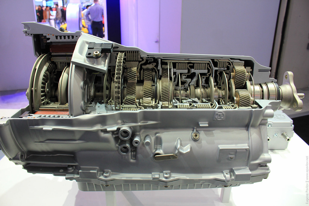 Gearbox from the inside real model