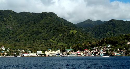 ocean city blue sky st skyline view outdoor sunny front lucia caribbean stlucia soufriere konomark