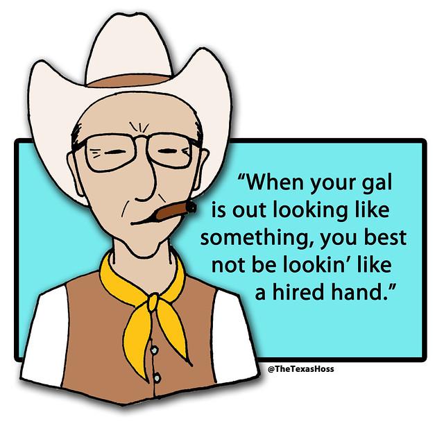 My old grandpa would say...
