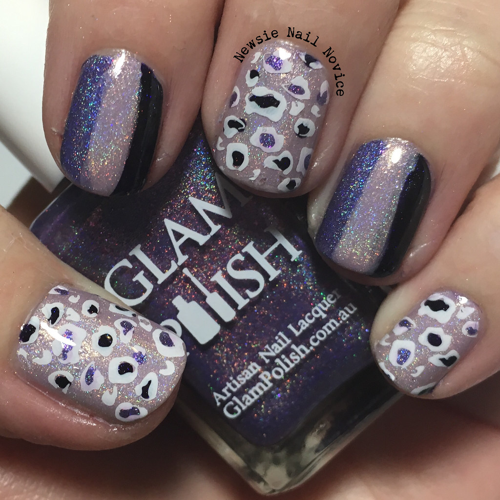 40 Great Nail Art Ideas – Three Shades of Purple | Newsie Nail Novice