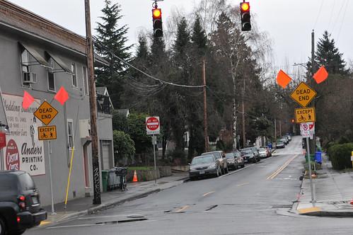 SE Clinton traffic diversion project-37